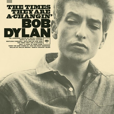 Bob Dylan - Times They Are A Changin' (180g Mono Vinyl LP)  LSUN5108