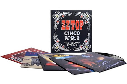 ZZ Top - Cinco No. 2: The Second Five LPs (180g 5LP Box Set) LDZ32534
