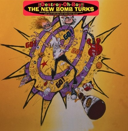 New Bomb Turks - Destroy-Oh-Boy! (Import Vinyl LP) LIN3216