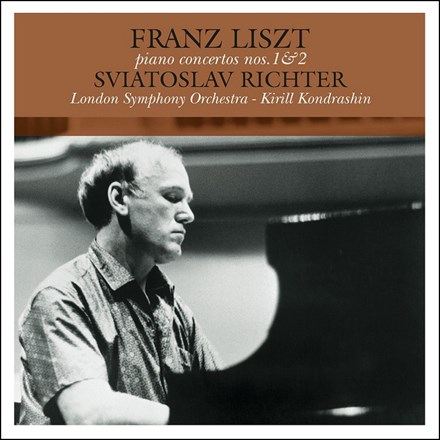 Liszt - Piano Concertos Nos.1 and 2, Sviatoslav Richter (180g Import Vinyl LP) LIL1545