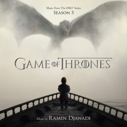 Ramin Djawadi - Game Of Thrones: Season 5 Soundtrack (180g Colored Vinyl 2LP) LDD07109