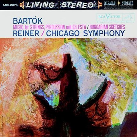 Bartok - Music For Strings, Percussion and Celesta - Hungarian Sketches - Reiner (200g Vinyl LP) LAP2374