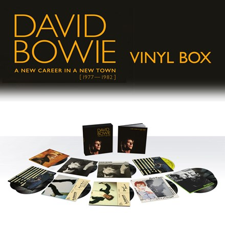 David Bowie - A New Career In A New Town: 1977-1982 (180g Vinyl 13LP Box Set) LDB42987