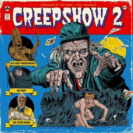 Les Reed and Rick Wakeman - Creepshow 2: 1987 Original Soundtrack (45rpm 180g Colored Vinyl 2LP) LDR46029