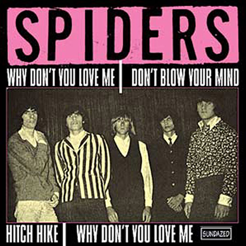 "The Spiders (Alice Cooper) - Hitch Hike EP (45RPM 7"") LSUN141"