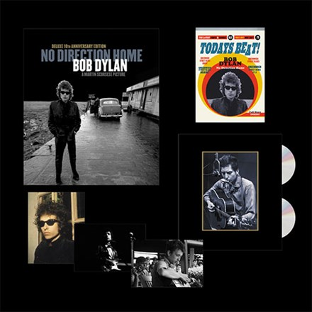 Bob Dylan - No Direction Home: Bob Dylan' Documentary (Limited Ed. 2 Blu-Ray + 2DVD Box Set) * * * CCAP72266