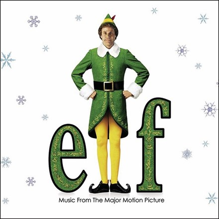 Elf: Music From the Motion Picture - Various Artists (Limited Edition Colored Vinyl LP) * * * LDE19270