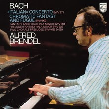 Bach: Alfred Brendel - Italian Concerto; Chromatic Fantasy and Fugue (180g Vinyl LP) LDB92694