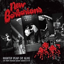 New Barbarians - Wanted Dead or Alive (Vinyl LP) LDN22033
