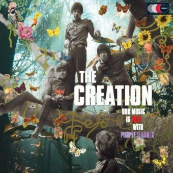 The Creation - Our Music Is Red With Purple Flashes (Limited Ed. Import Vinyl 2LP) LIC91203