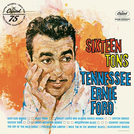 Tennessee Ernie Ford - Sixteen Tons (Vinyl LP) LDF05119