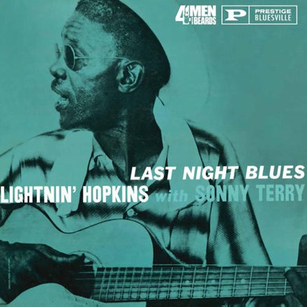 Lightnin' Hopkins with Sonny Terry - Last Night Blues (180g Vinyl LP) LDH124811