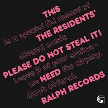 The Residents - Please Do Not Steal It! (Numbered 180g Import Colored Vinyl LP) LIR00445