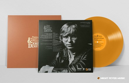 John Denver - Poems, Prayers and Promises (Limited Edition 180g Colored Vinyl LP) LDD04419