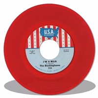 """The Buckinghams - I'm A Man/Don't Want To Cry (45rpm Colored Vinyl 7"""") LDB50419"""