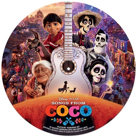 Songs from Coco: Original Motion Picture Soundtrack - Various Artists (Vinyl LP) LDC86030