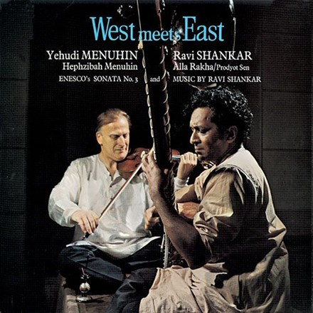 Yehudi Menuhin and Ravi Shankar - West Meets East (Vinyl LP) LDM84157