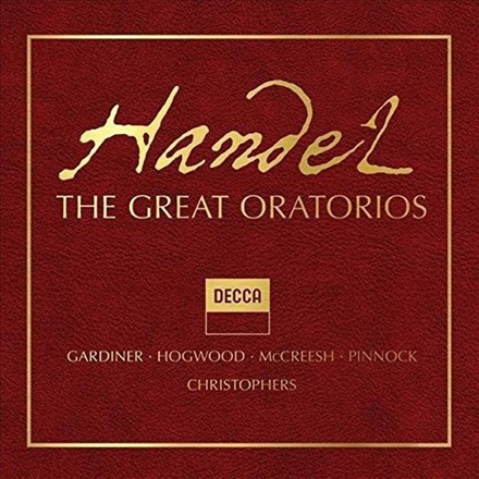 Handel: The Great Oratorios - Various Artists (Limited Edition 41CD Box Set) CDEC01423