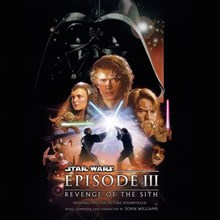 John Williams - Star Wars Episode III: Revenge of the Sith Soundtrack (Limited Ed. Colored Vinyl 2LP LDW22083