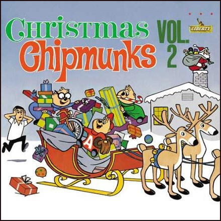 The Chipmunks - Christmas with the Chipmunks Vol. 2 (Vinyl LP) * * * LDC800828