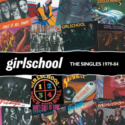Girlschool - The Singles 1979-1984 (Colored Vinyl LP) LDG06381