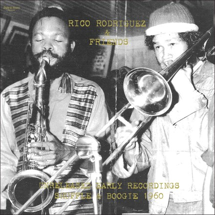 Rico Rodriguez and Friends - Unreleased Early Recordings: Shuffle and Boogie 1960 (Vinyl LP) LDR31733