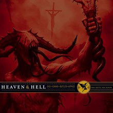 Heaven and Hell - The Devil You Know (Limited Edition Colored Vinyl 2LP) LDH43462