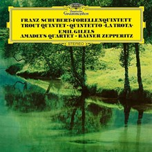 Schubert - Piano Quintet: The Trout; String Quartet /Emil Gilels, Amadeus Quartet (180g Vinyl LP) LDS81190