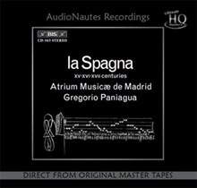 La Spagna - Paniagua  (Numbered Limited Edition UHQCD) CAUDN1603