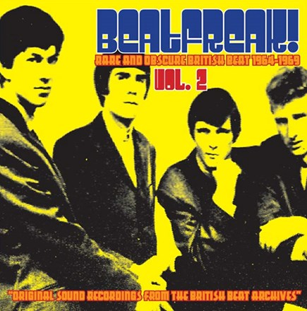 Beatfreak! Vol. 2: Rare and Obscure British Beat 1964-69 - Various Artists (180g Colored Vinyl LP) LDB05923