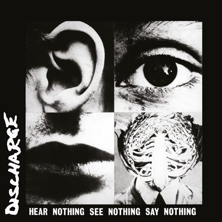 Discharge - Hear Nothing See Nothing Say Nothing (Colored Vinyl LP) LDD92288