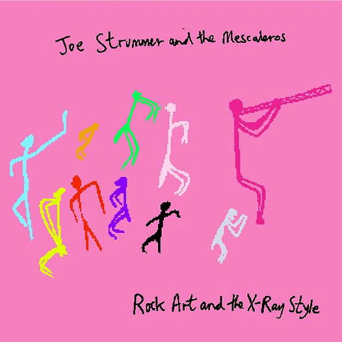 Joe Strummer And The Mescaleros Rock Art And The X Ray