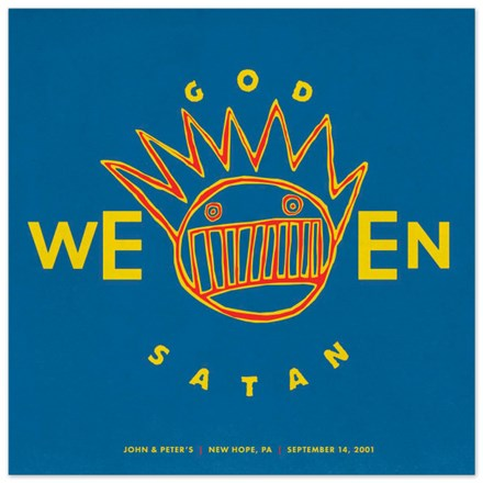 Ween - GodWeenSatan: Live (Limited Edition 180g Colored Vinyl 2LP) LDW75617