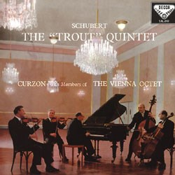 Schubert - The 'Trout' Quintet - Curzon - The Vienna Octet (Hybrid SACD) CAPSA2110