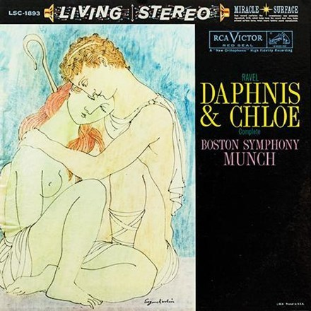 Ravel - Daphnis And Chloe - Munch - Boston Symphony Orchestra (Hybrid SACD) CAPSA1893