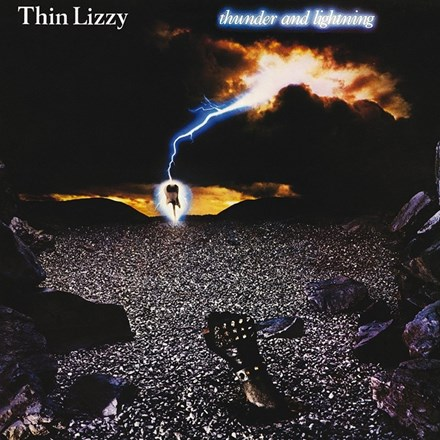 Thin Lizzy - Thunder and Lightning (Limited Edition 180g Vinyl LP) LDT38317