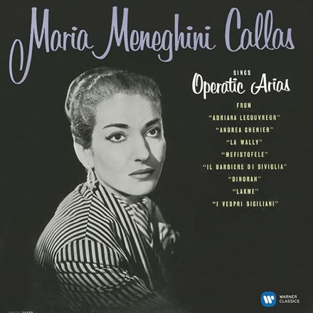 Maria Callas - Operatic Arias (Lyric and Coloratura) (Vinyl LP) LDC36002