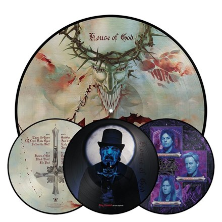 King Diamond - House of God (Picture Disc Vinyl 2LP) LDK07019