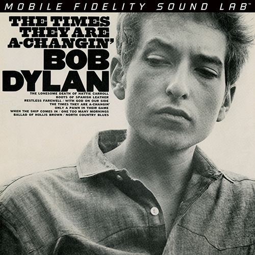 Bob Dylan - The Times They Are A Changin' (NUMBERED LIMITED EDITION HYBRID SACD) CMFSA2123