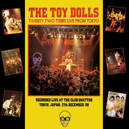 The Toy Dolls - Twenty Two Tunes Live from Tokyo (Colored Vinyl 2LP) LDT05742