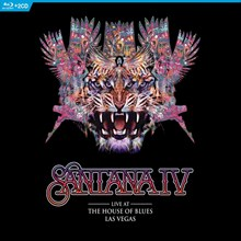 Santana IV - Live at the House of Blues, Las Vegas (Blu-Ray + 2CD) CEAG55099