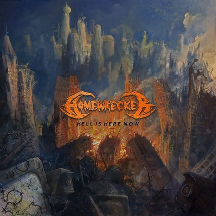 Homewrecker - Hell Is Here Now (Colored Vinyl LP) LDH07249
