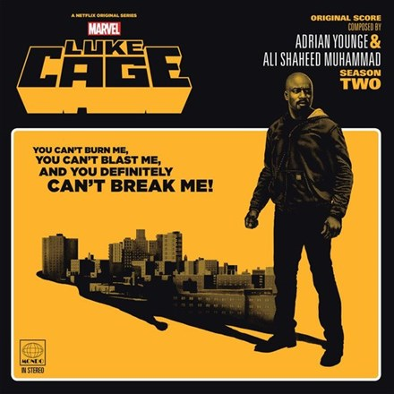 Adrian Younge and Ali Shaheed Muhammad - Marvel's Luke Cage: Season Two (Vinyl 2LP) LDL97364