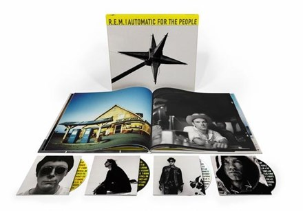 R.E.M. - Automatic for the People: 25th Anniversary (3CD + Blu-ray) * * * CCRA9842