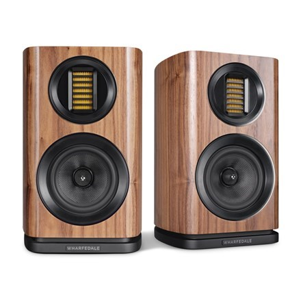Wharfedale - EVO 4.1 Bookshelf Speakers (Walnut, Pair) **OPEN BOX** DEMO_AWFEVO41N