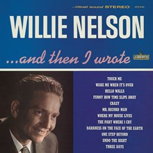 Willie Nelson - And Then I Wrote (Colored Vinyl LP) LDN88484