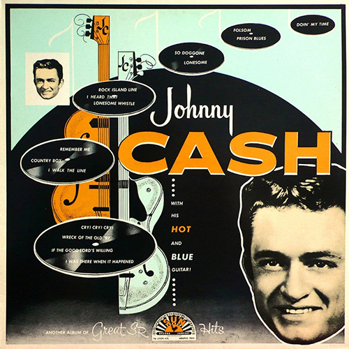 Johnny Cash - With His Hot And Blue Guitar (Vinyl LP) LDC02220