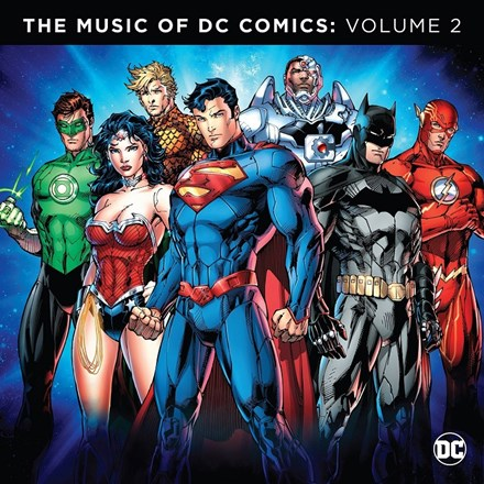 DC Comics V2: Soundtrack - Various Artists (Limited Edition Vinyl 2LP) LDD90100