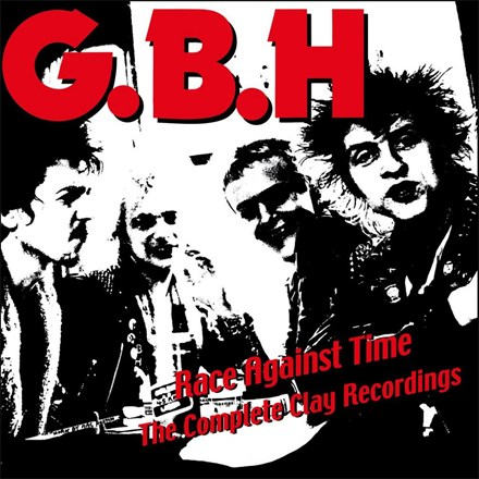 GBH - Race Against Time: The Complete Clay Recordings Vol. 1 (Colored Vinyl 2LP) LDG97702