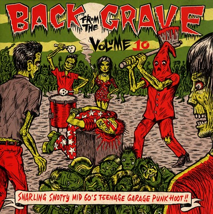 Back from the Grave Vol. 10 - Various Artists (Import Vinyl LP) LIB11518